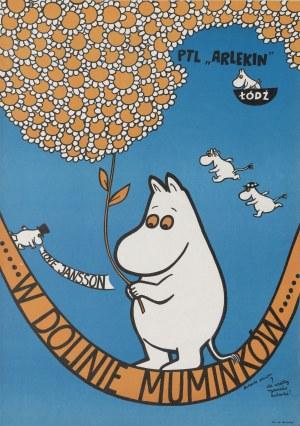 plakat BUTENKO Bohdan - W Dolinie Muminków [1977]