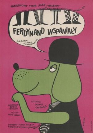 plakat BUTENKO Bohdan - Ferdynand Wspaniały [1968]