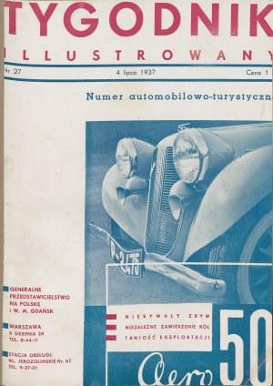 Tygodnik Ilustrowany [pełny rocznik 1937] [Bruno Schulz]