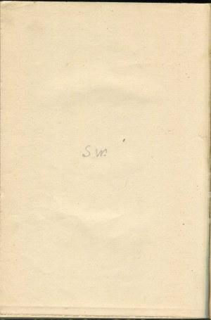 WYSPIAŃSKI Stanisław - Wesele. Dramat w 3 aktach [wydanie pierwsze 1901]