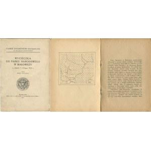 PACZOSKI Józef - Wycieczka do Parku Narodowego w Białowieży w dniach 7 i 8 lipca 1925 r.