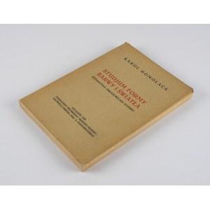 HOMOLACS Karol - Studjum formy barwy i światła. Dydaktyka obrazowania natury [1929]