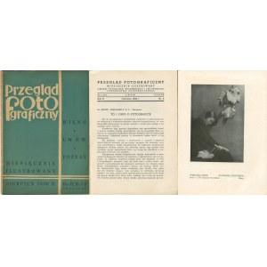 [zestaw 4 numerów] Przegląd fotograficzny. Miesięcznik ilustrowany [1936, 1939]