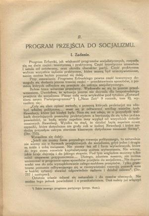 KAUTSKY Karol - Rewolucja proletariacka i jej program [1924]