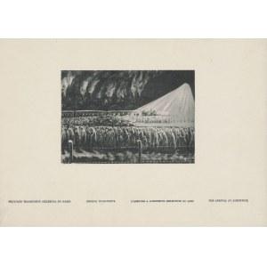 Nigdy więcej. Reprodukcje obrazów Janiny Tollik. Cztery lata Oświęcimia [1952] [AUTOGRAF I DEDYKACJA AUTORKI DLA SOKORSKIEGO]