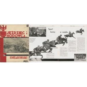 Jeździec i hodowca. Numer 10 z 1933 r. [Kawaleria Polska]