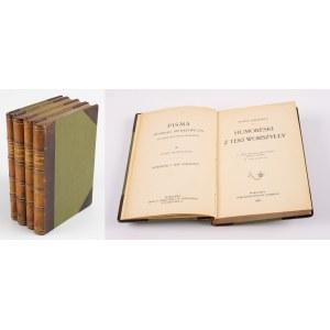 SIENKIEWICZ Henryk - Pisma nieobjęte wydaniem zbiorowem [komplet 4 tomów] [1901, 1904]