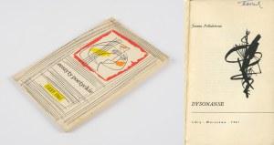 [Zeszyty poetyckie] POLLAKÓWNA Joanna - Dysonanse [1961] [okł. Józef Wilkoń]