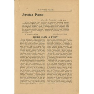 W służbie pieśni. 4 lat Chóru im. Fr. Szopena [Polskie Towarzystwo Śpiewacze] [Buenos Aires 1954]
