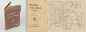 THUGUTT Stanisław - Przewodnik po Warszawie. Z planem miasta [1912]
