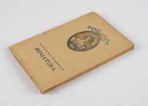 RABSKA Zuzanna - Miniatura [1918]