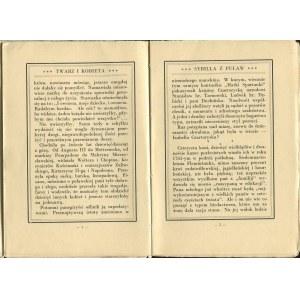 WASYLEWSKI Stanisław - Twarz i kobieta [1930] [okł. Irena Pokrzywnicka]