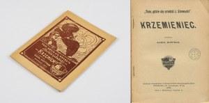 HOFFMAN Karol - Krzemieniec. Tam, gdzie się urodził Juliusz Słowacki [1909]