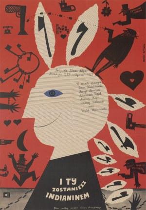 plakat BUTENKO Bohdan - I ty zostaniesz Indianinem [1962]