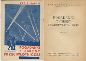 BARTEL Zygfryd - Pogadanki z obrony przeciwlotniczej [1935]