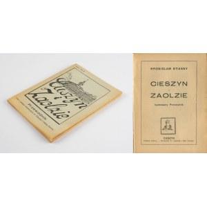 [przewodnik] STIASNY Bronisław - Cieszyn i Zaolzie. Przewodnik wraz z planem m. Cieszyna i mapką Zaolzia [1939]