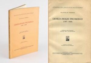 POCIECHA Władysław - Geneza hołdu pruskiego (1467-1525) [Gdynia 1937]