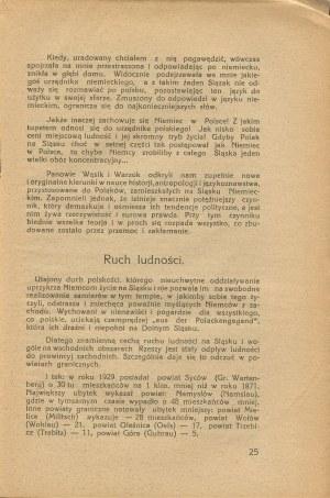 KRZYŻANOWSKI Wiktor - O polskości Śląska Niemieckiego [Lwów 1936]