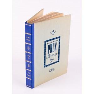 PRUS Bolesław - Pisma. Tom I-XXVI [komplet wydawniczy] [1935-1936] [Lalka, Faraon, Emancypantki]