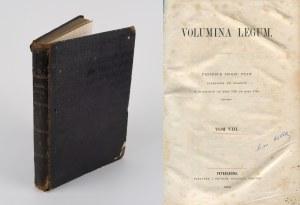 Volumina Legum. Tom VIII. Prawa y konstytucye za panowania Stanisława Augusta 1775-1780 [Petersburg 1860]
