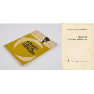 RYMKIEWICZ Jarosław Marek - Człowiek z głową jastrzębia [wydanie pierwsze 1960]