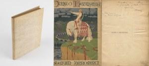ŻEROMSKI Stefan - Duma o hetmanie [1909] [AUTOGRAF I DEDYKACJA] [okł. Edward Okuń]