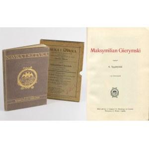 SYGIETYŃSKI Antoni - Maksymilian Gierymski [Nauka i Sztuka] [Lwów 1906]