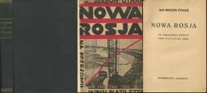 BERSON (OTMAR) Jan - Nowa Rosja. Na przełomie dwóch piatiletek [1933]