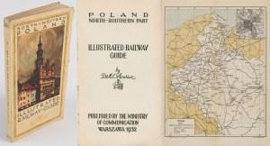 [przewodnik] ORŁOWICZ Mieczysław - North-western Poland illustrated railway guide [1932] [okł. Stefan Norblin]
