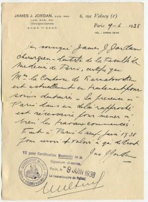 [Potoccy - Zamoyscy] Zbiór dokumentów genealogiczno-majątkowych dotyczących rodu Potockich, Szwykowskich i Zamoyskich, lata 70. XIX w. - 1940