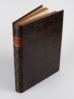 KRASZEWSKI Józef Ignacy - Kartki z podróży 1858-1864 r. Kraków, Wiedeń, Triest, Wenecja, Padwa, Mediolan, Genua, Piza, Florencja, Rzym [1866]