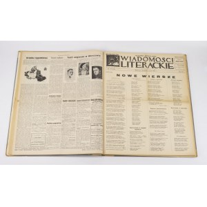 Wiadomości Literackie [rocznik 1932] [Słonimski, Tuwim, Czapski, Choynowski, Stempowski]