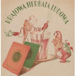 reklama Krajowa herbata ludowa - Tu do nabycia. Żądać wszędzie!