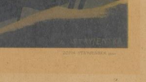 grafika STRYJEŃSKA Zofia - Dziewosłęby