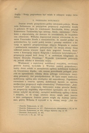 KUKIEL Marian - Wybuch wojny światowej [1934]