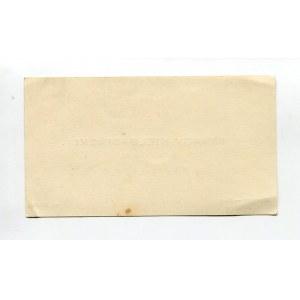 Karta wizytowa Ignacego Kiełbasińskiego (1878-1936) [DEDYKACJA]