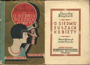 WASYLEWSKI Stanisław - O siedmiu duszach kobiety [1927] [okł. Ernest Czerper]