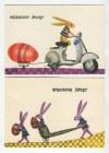 BUTENKO Bohdan - Zestaw 9 pocztówek świątecznych. Wielkanoc [1963]