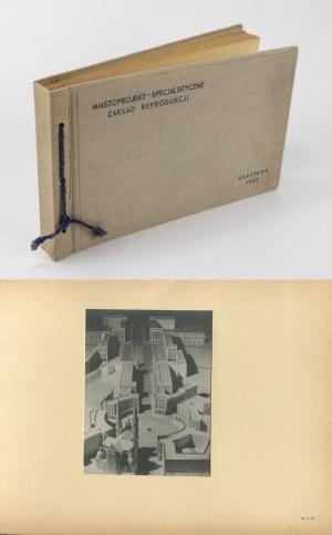 [album foto] MIASTOPROJEKT - Fotografie oraz projekty [1952] [Sejm, Trasa W-Z, MDM, Pałac Kultury i Nauki]