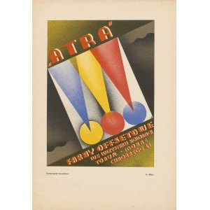 reklama MICH Fr. - Atra. Farby offsetowe we wszystkich kolorach [1933]