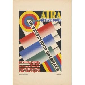 reklama BERNACIŃSKI S. - Atra. Farby offsetowe we wszystkich kolorach [1933]