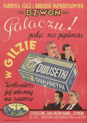 reklama Fabryka Gilz i Bibułek Papierosowych