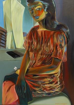 Michalina Czurakowska, Portrait of a Woman, 2021