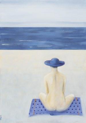 Andrzej Wirpszo, Na plaży, 2021