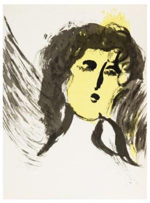 Marc Chagall, Anioł, 1956