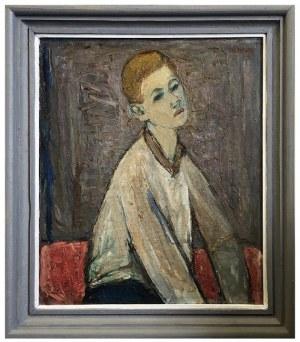 Maksymilian Stratanowski, Portret chłopca, XX w.