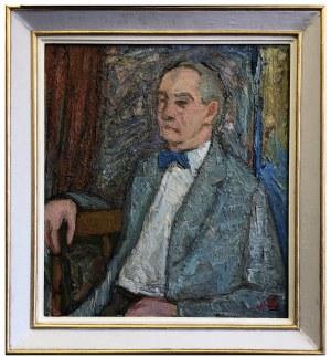 Maksymilian Stratanowski, Portret mężczyzny (Jerzy Kreczmar?), XX w.