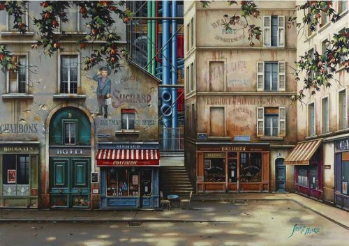 Jan Stokfisz Delarue, Pompidou S