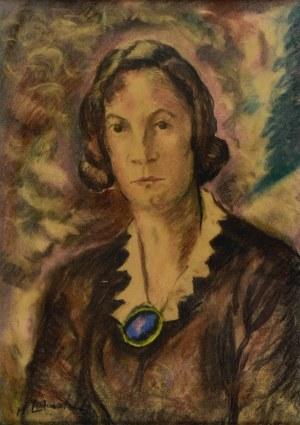 Henryk LEWENSZTADT (1893-1962), Portret kobiety