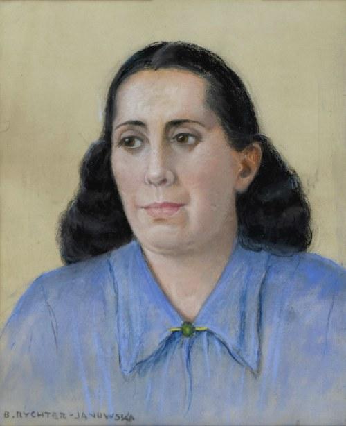 Bronisława RYCHTER-JANOWSKA (1868-1953), Portret kobiety